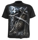 SPIRAL Symphony of Death T-Shirt, Short Sleeve, Adult Male, Medium, Black
