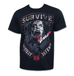 The WALKING DEAD Zombie Survive Protect Defend Official T-Shirt