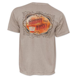 MAKER'S MARK Bourbon VS Whiskey Brown Tee Shirt