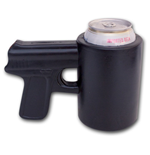 Shooter Gun Novelty Foam Can Cooler Koozie