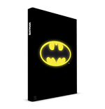 Batman Notebook with with Light Logo