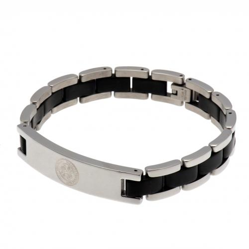 Celtic F.C. Black Inlay Bracelet