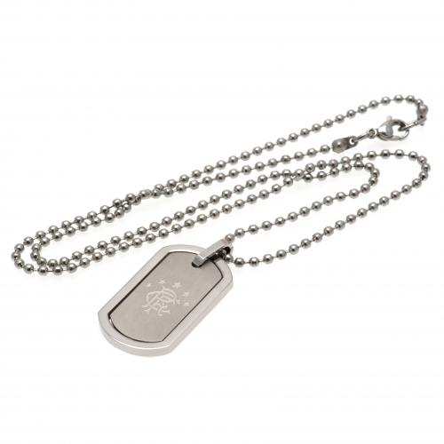 Rangers F.C. Framed Dog Tag & Chain