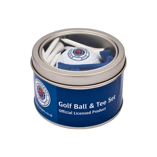 Rangers F.C. Ball & Tee Set
