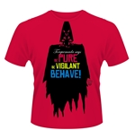 2000AD Torquemada T-shirt Be PURE, Be VIGILANT, Behave