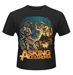 Asking Alexandria T-shirt Am I Insane