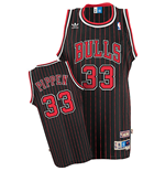 adidas Chicago Bulls #33 Scottie Pippen Soul Swingman Alternate Jersey