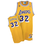 adidas Magic Johnson Los Angeles Lakers Soul Swingman Home Jersey