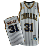 adidas Indiana Pacers #31 Reggie Miller Soul Swingman Home Jersey