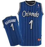 Orlando Magic #1 Anfernee Hardaway Soul Swingman Road Jersey