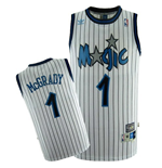 Orlando Magic #1 Tracy McGrady Soul Swingman Home Jersey