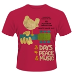 Woodstock T-shirt 3 Days Of Peace