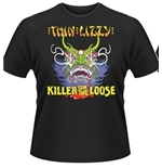 Thin Lizzy T-shirt Killer On The Loose