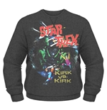 Star Trek Sweatshirt Kirk Vs Kirk
