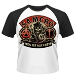 Sons Of Anarchy T-shirt Samcro Reaper