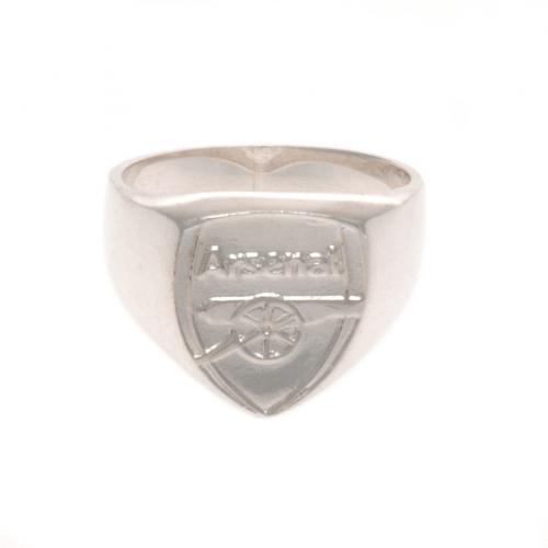 Arsenal F.C. Sterling Silver Ring Large