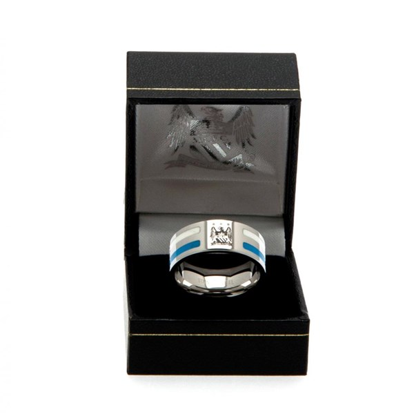 Manchester City F.C. Colour Stripe Ring Small