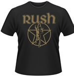 Rush T-shirt Metallic Starman