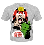 Judge Dredd T-shirt Emo Kids