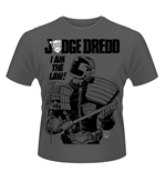Judge Dredd T-shirt I Am The Law 3