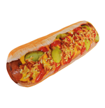 Hot Dog Cushion 50 x 14 cm