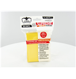 Ultimate Guard Supreme Sleeves Standard atte Yellow (80)