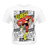 Dc Originals T-shirt Flash Comic Strip