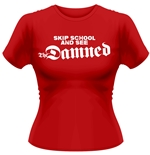 The Damned T-shirt Skip School