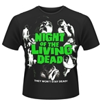 Plan 9 - Night Of The Living Dead T-shirt Night Of The Living Dead (POSTER)