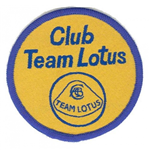 Motorsport Memorabilia Club Team Lotus Patch