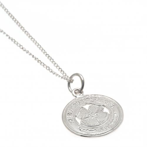 Celtic F.C. Sterling Silver Pendant & Chain