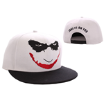 Batman Adjustable Cap Joker Logo white