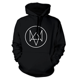 WATCH_DOGS Fox Logo Small Hoodie, Black