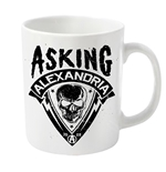 Asking Alexandria Mug Skull Shield