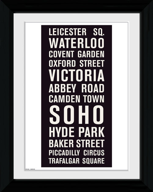 London Locations Collector Print