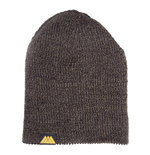 DESTINY Reversible Beanie Hat with Yellow Warlock Logo Patch, Grey