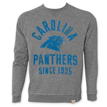 the latest e25fa 727c6 NFL CAROLINA PANTHERS Men's Since 1995 Junk Food Crewneck Sweatshirt