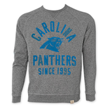 NFL CAROLINA PANTHERS Men's Since 1995 Junk Food Crewneck Sweatshirt
