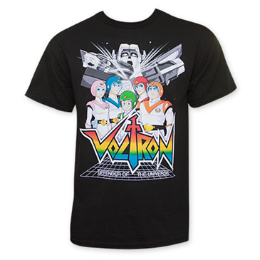 5b1f31035 Buy Official VOLTRON: Defenders Of The Universe Pilots Tee Shirt