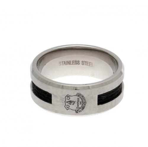 Everton F.C. Black Inlay Ring Medium