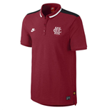 2014-15 Man Utd Nike Authentic Covert Polo Shirt (Red)