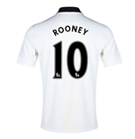 2014-15 Man Utd Away Shirt (Rooney 10) - Kids