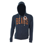 NFL CHICAGO BEARS Navy Blue Junk Food Hoodie