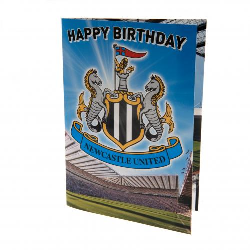 Newcastle United F.C. Musical Birthday Card