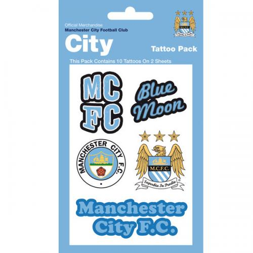 Manchester City F.C. Tattoo Pack
