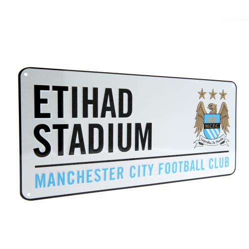 Manchester City F.C. Street Sign Etihad