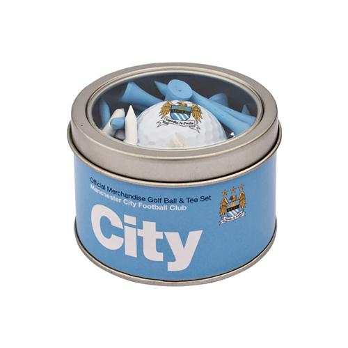 Manchester City F.C. Ball and Tee Set