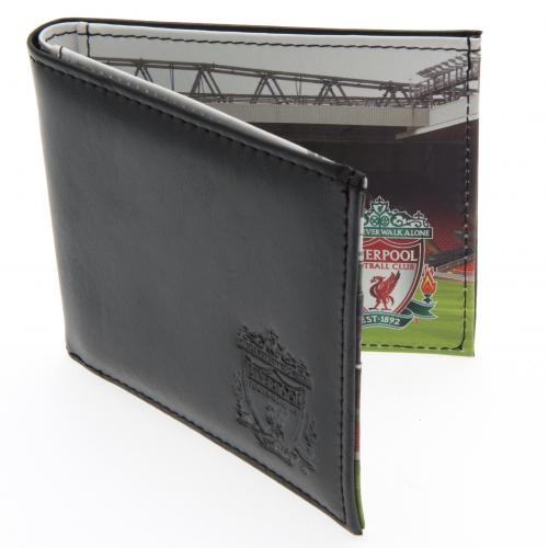 Liverpool F.C. Leather Wallet Panoramic 801