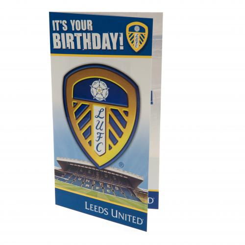 Leeds F.C. Birthday Card
