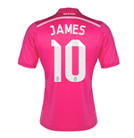2014-15 Real Madrid Away Shirt (James 10) - Kids